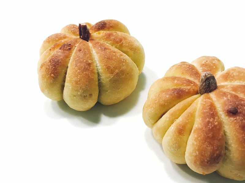 萬聖節南瓜麵包