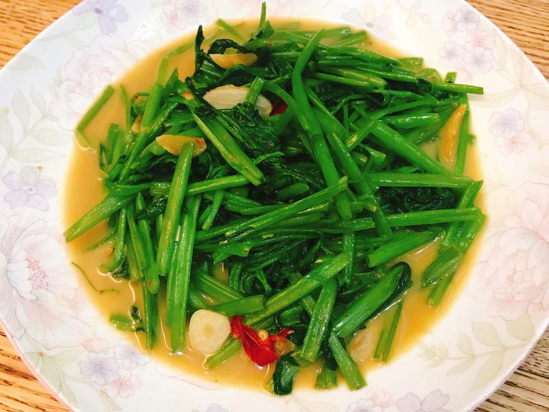 給新手超簡單「豆腐乳空心菜」✨