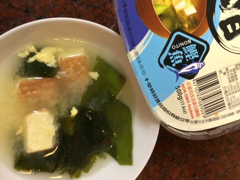 豆腐味增湯
