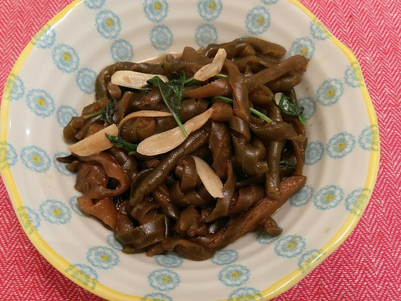 香炒海帶茸(海龍)
