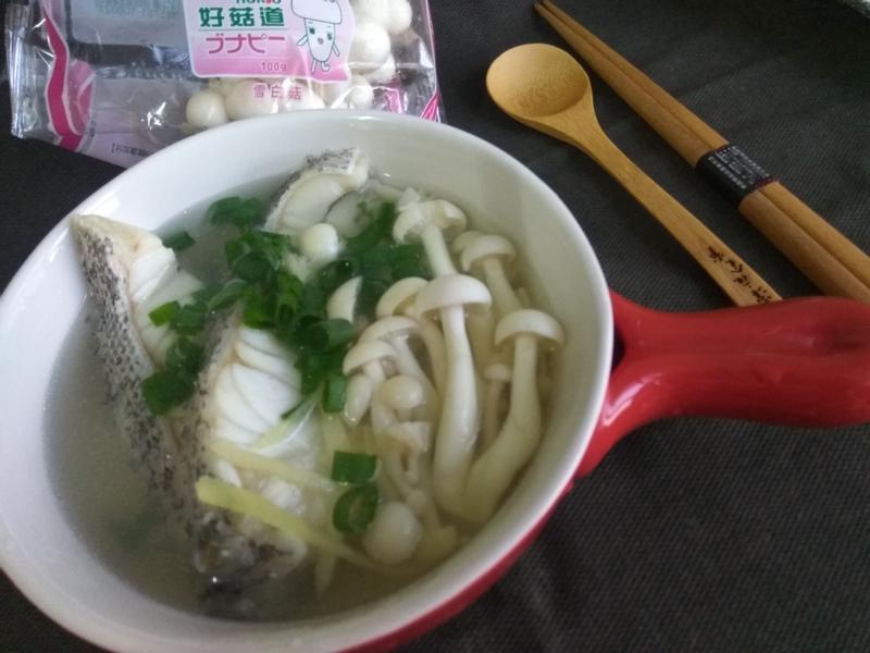 薑絲石斑魚湯【好菇道好食光】