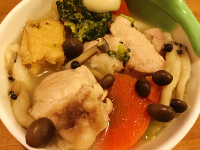 豬肉味噌湯(豚汁)