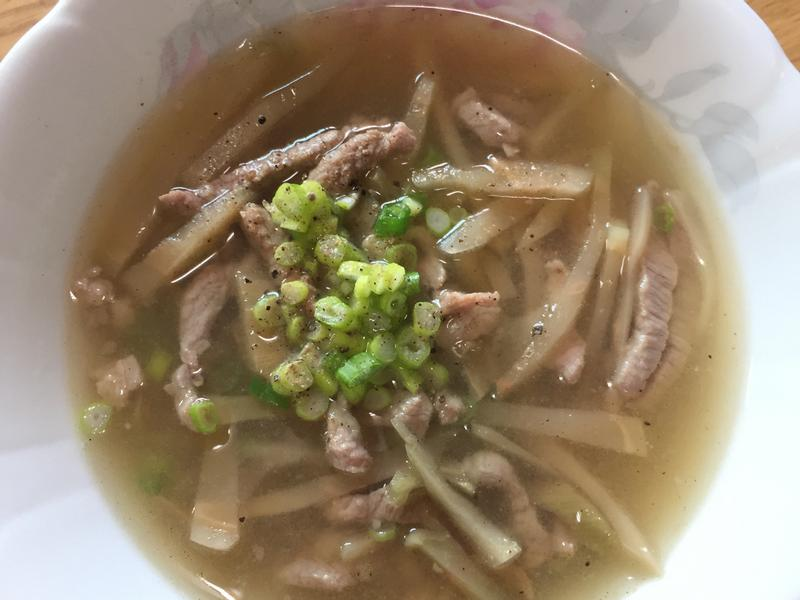 榨菜肉絲湯