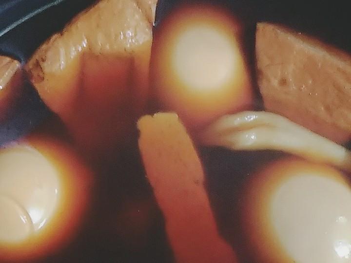 滷香豆干蛋雪白菇