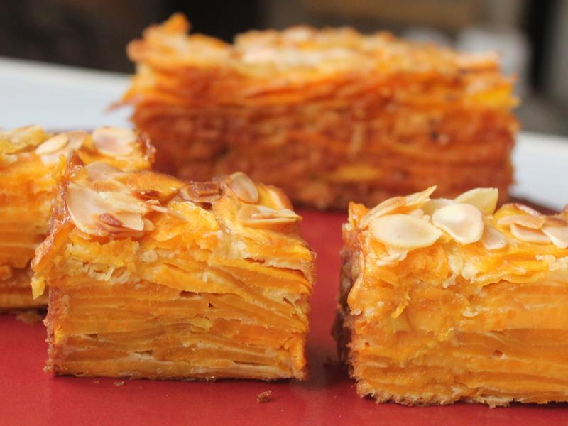 千層地瓜蛋糕