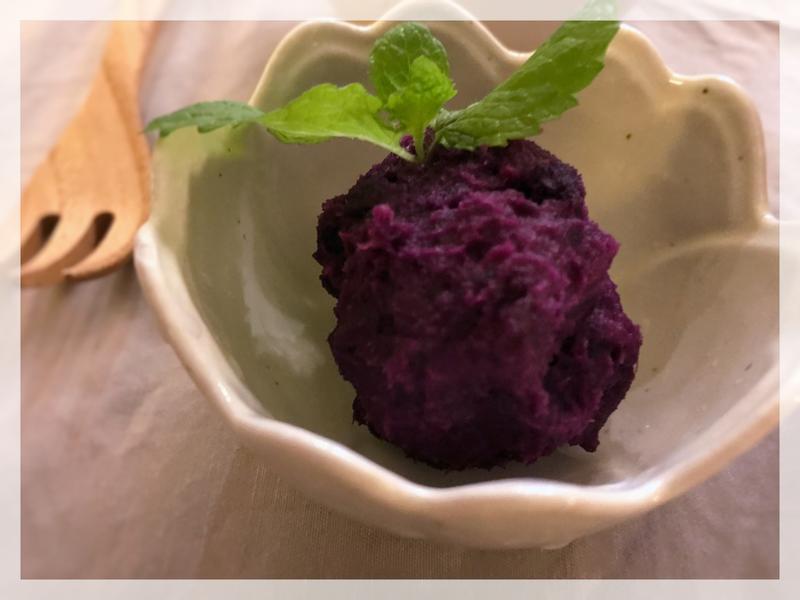 【日式副菜】紫薯沙拉(露營OK)