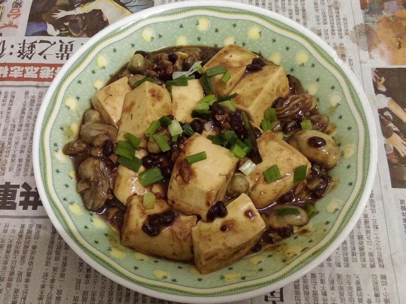¥ 鮮味~豆鼓鮮蚵 ¥