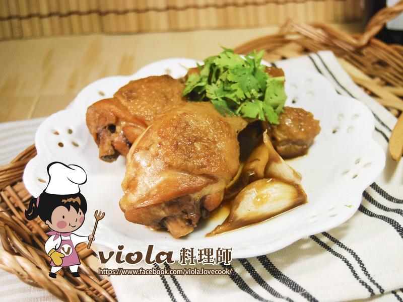 傳統味滷雞腿