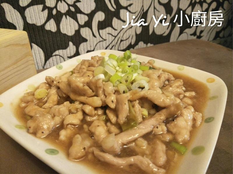 醬燒肉絲(下飯菜)