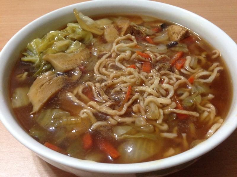 素食大滷麵