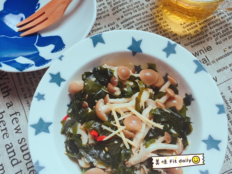 涼拌海芽菇菇【好菇道好食光】