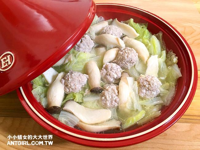 白菜肉丸子湯(第一次做肉丸子就上手)