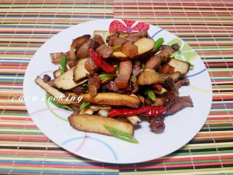 臘肉香炒豆干