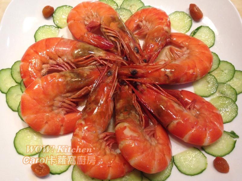 懶人必學年菜-紹興醉蝦
