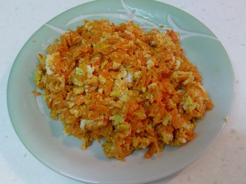 胡蘿蔔炒蛋