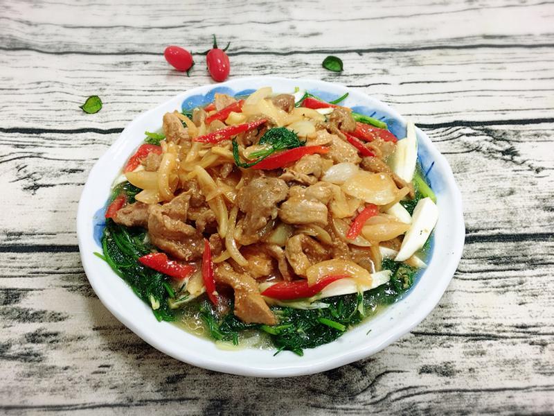 茄汁肉片燴蔬菜(水波爐料理)