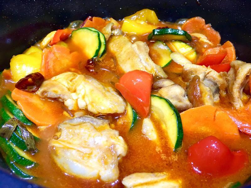 辣炒韓式安東雞