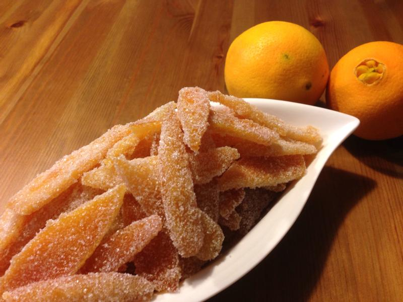 自製橙皮糖