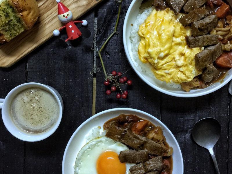 人妻料理-濃厚系咖喱飯【好菇道好食光】
