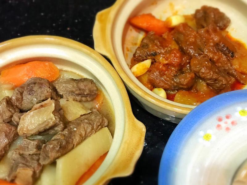 韓式牛肋條 韓式辣醬牛肋條 兩種口味