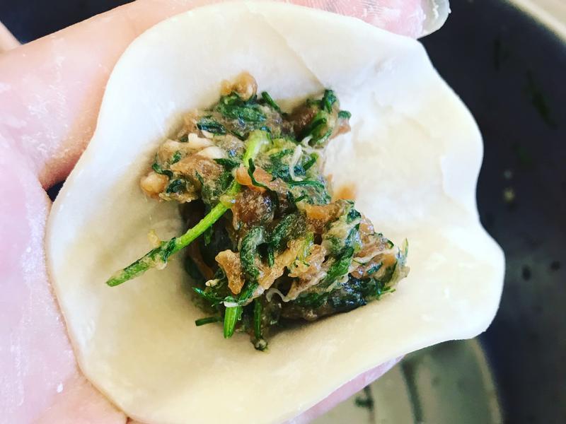 茴香菜水餃