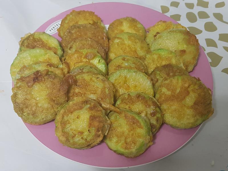 (韓式)櫛瓜煎餅 애호박전
