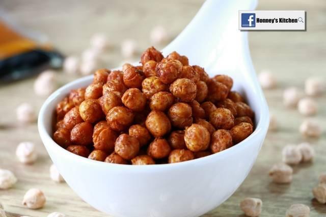 香脆烤鷹咀豆 (chickpea)
