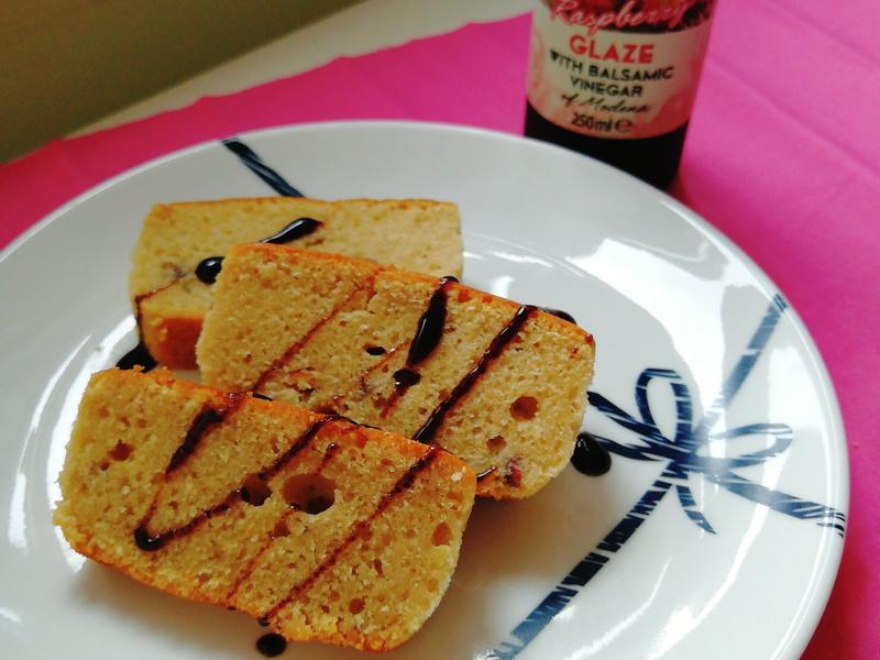 杏仁紅莓橄欖油蛋糕