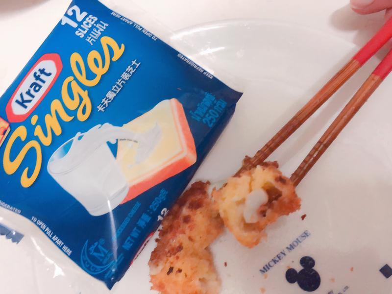 【卡夫起司片】酥炸起司魷魚圈