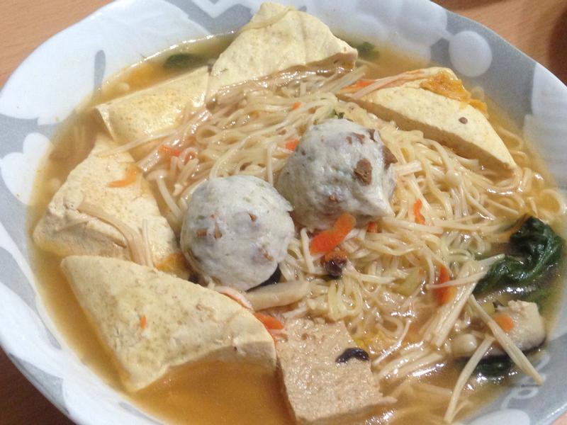 素韓式泡菜臭臭麵