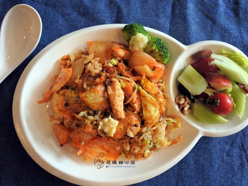 韓式泡菜藜麥炒飯