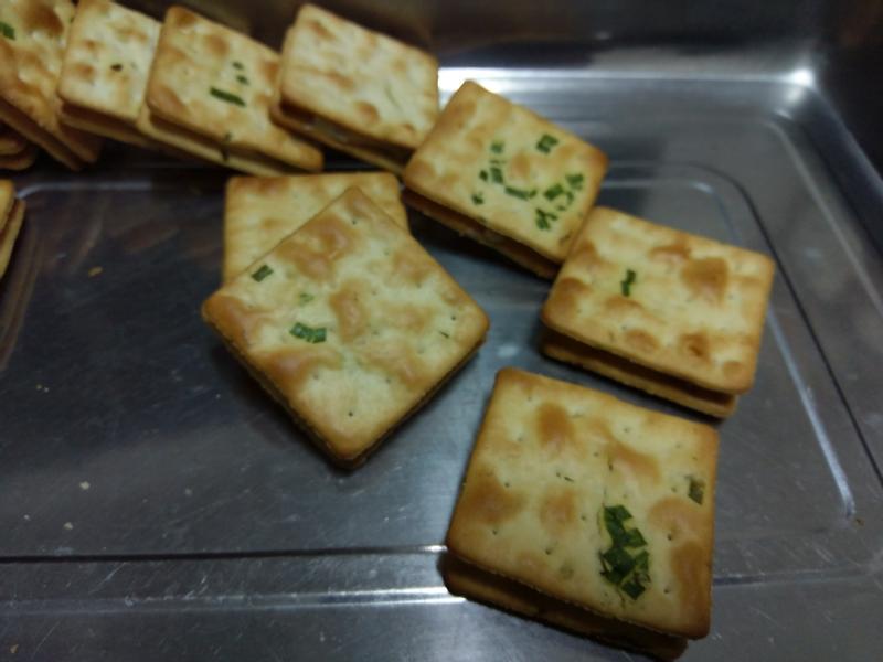 かにの牛軋餅