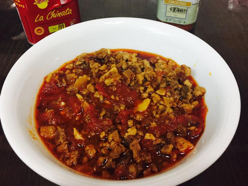 自制龍息辣肉醬(義式辣肉醬-超簡單)