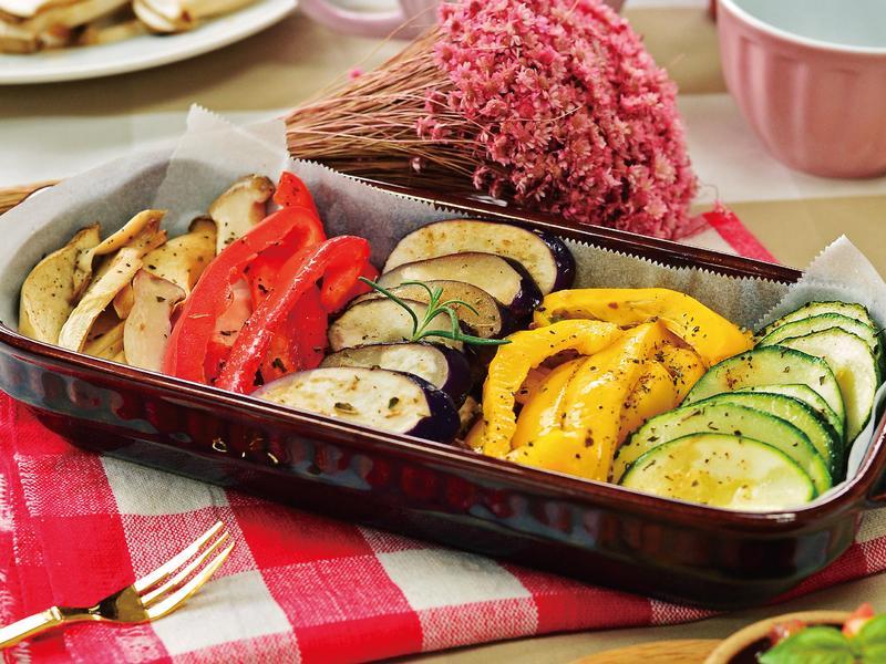 【小磨坊】輕食乳酪蒜烤時蔬