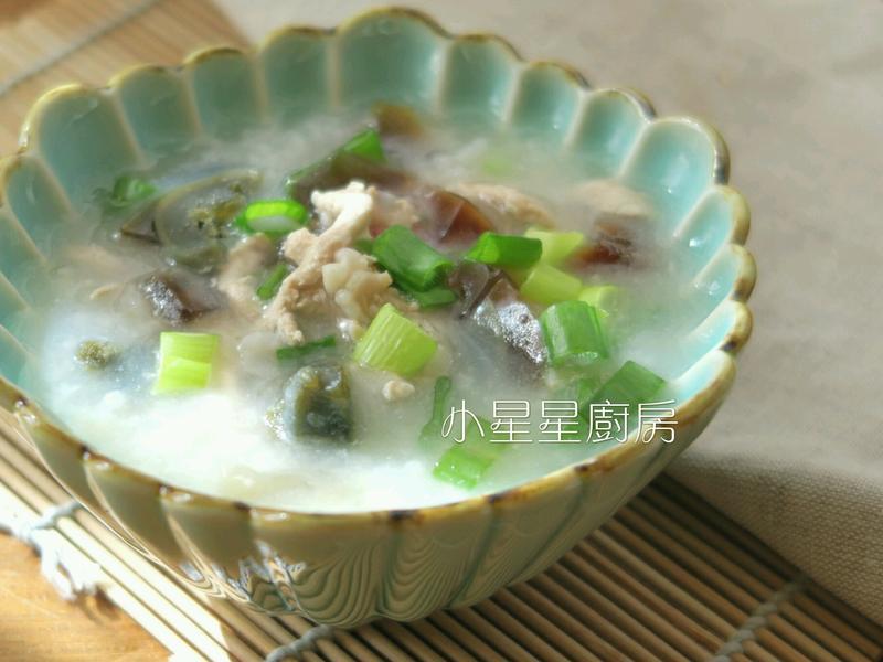 皮蛋瘦肉粥(電鍋做法)