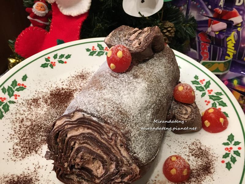 千層蛋糕捲x樹幹蛋糕(免烤箱)