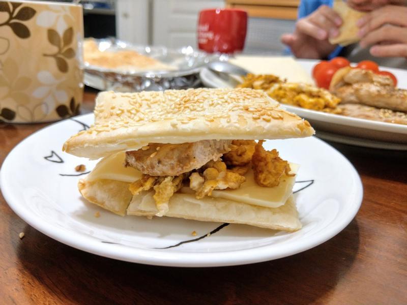 (親子共享)燒餅自助樂早餐
