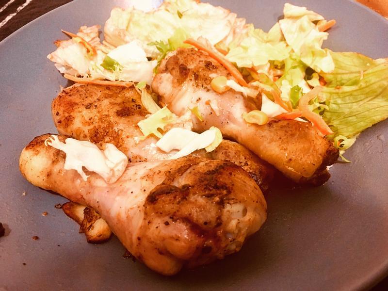 隨意煎雞腿肉