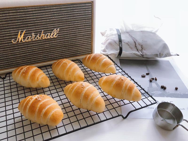 麵包機做海鹽麵包