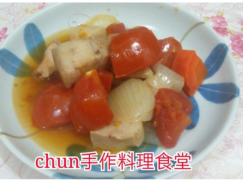 白酒蕃茄燉肉(神秘燉肉)