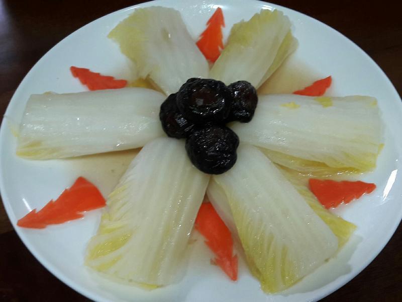 香菇白菜膽 年菜 白菜料理5-4