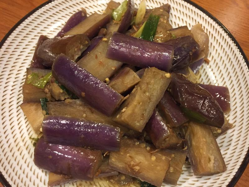 干貝醬燒紫茄