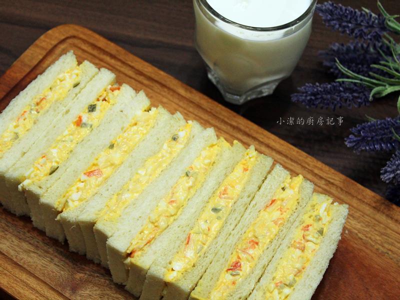 蟹味雞蛋三明治
