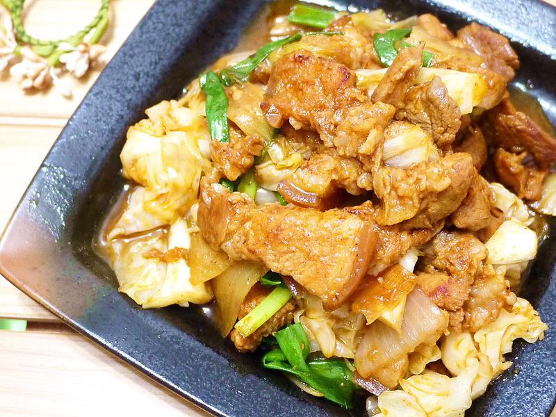 韓式辣炒豬肉鮮蔬