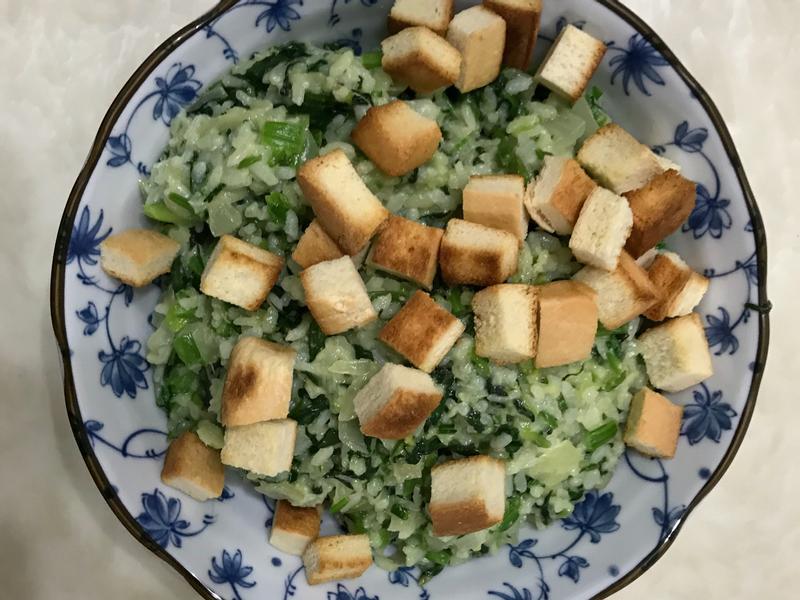青醬燉飯(菠菜快速燉飯)