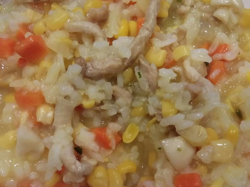 康寶玉米濃湯燉飯