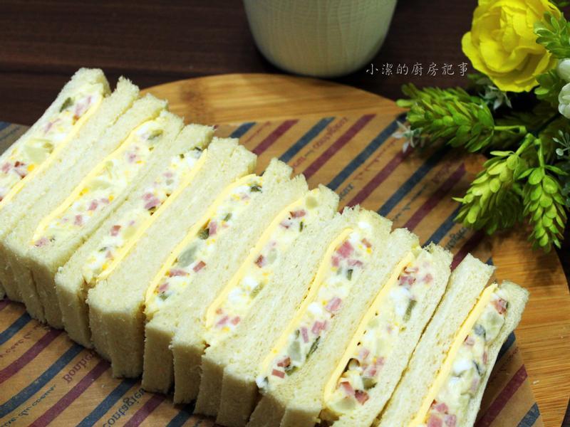 薯泥火腿起司三明治