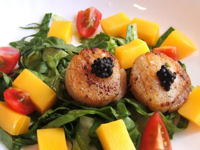 輕鬆好料理 - 干貝魚子醬沙拉