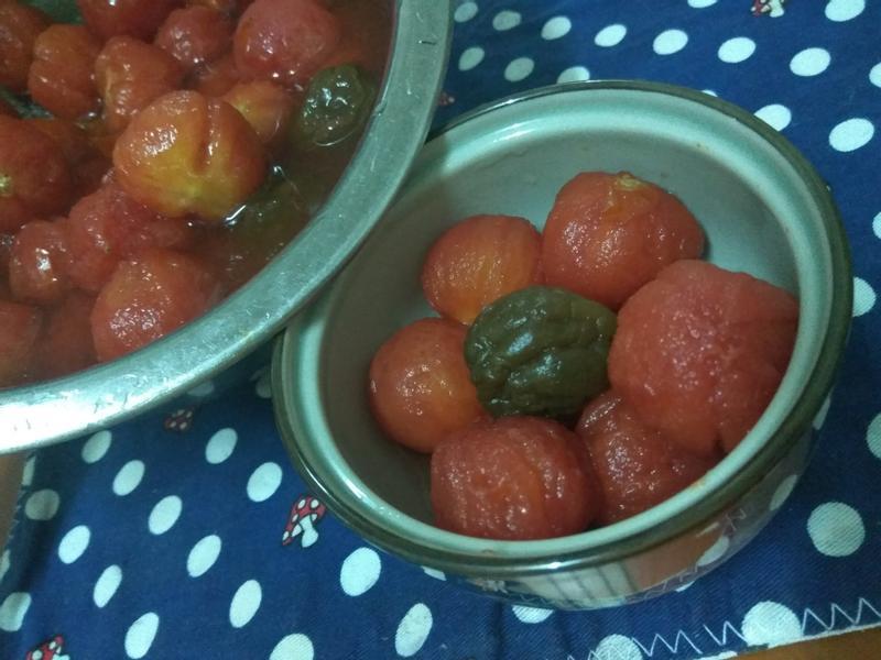 幸福小甜點─梅漬蕃茄