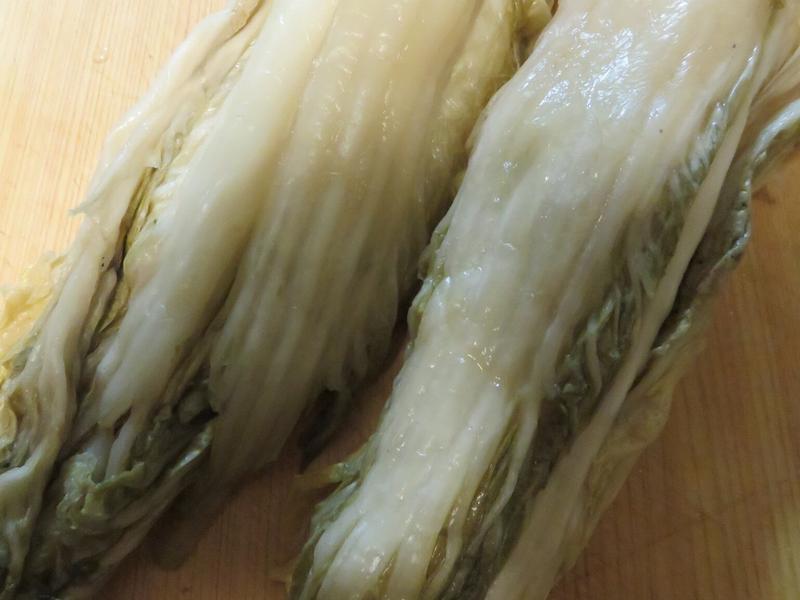 東北酸白菜的醃製方法(不需要燙過)